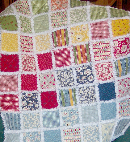 Free Rag Quilt Patterns : rag quilt patterns - Adamdwight.com